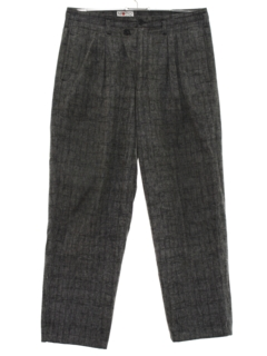 1980's Mens Totally 80s Pleated Pants