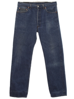 1980's Mens Levis 501 Button Fly Jeans Pants