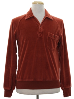 1960's Mens Velour Shirt