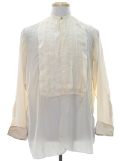 1920's Mens Formal Tuxedo Style Shirt