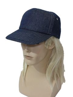 1980's Mens Accessories - Denim  Baseball Hat