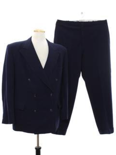 1940's Mens Wool Swing Suit