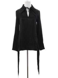 1960's Womens Designer Fringe Shirt