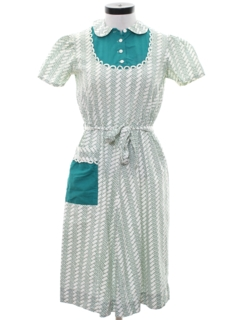 1950's Womens Maternity Dress