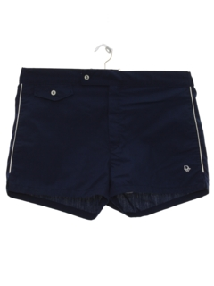 1980's Mens Designer Swim Shorts
