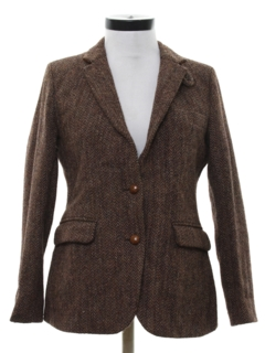1960's Womens Blazer Sport Coat Jacket