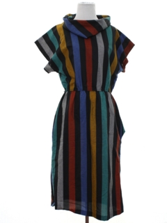 1980's Womens Mod Dress