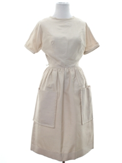 1950's Womens Silk Dress