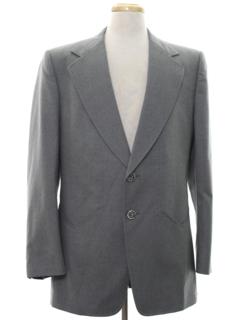 1960's Mens Western Style Blazer Sport Coat Jacket