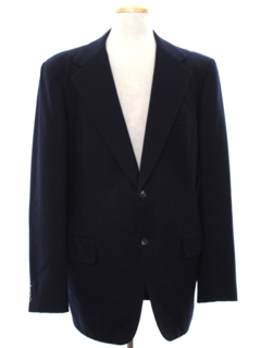 1980's Mens Blazer Style Sport Coat Jacket