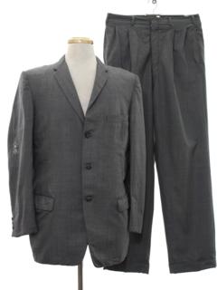 1960's Mens Mod Suit
