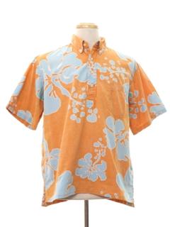 1980's Mens Totally 80s Hawaiian Shirt