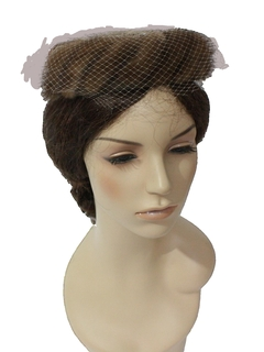 1950's Womens Accessories - Ring Hat