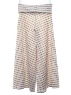 1970's Womens Palazzo Style Knit Pants