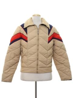 1980's Mens Totally 80s Ski Jacket