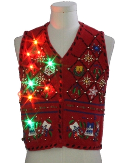 bbff3abb7a8 Womens Petite (XS) Vintage Ugly Christmas Sweaters. Authentic ...