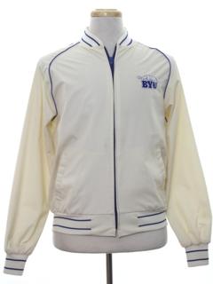 1970's Mens Baseball Style Zip Jacket