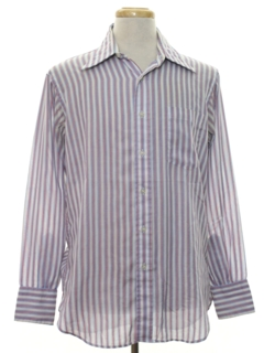 1970's Mens Striped Shirt