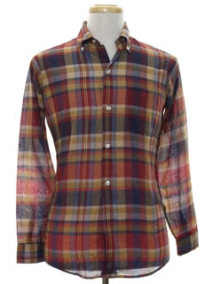 1960's Mens/Boys Mod Shirt