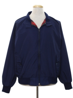 1980's Mens Mod Golf Style Zip Jacket