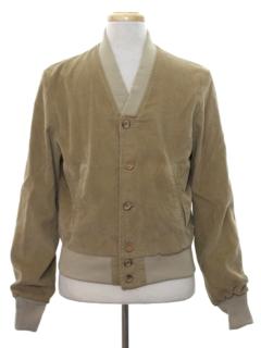 1960's Mens Mod Corduroy Jacket