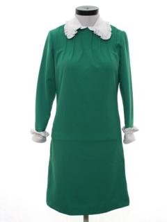 1970's Womens Secretary Style Dress