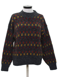 1980's Womens Totally 80s Sweater