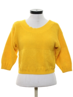 1990's Womens Totally 80s Style Sweater