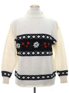1980's Unisex Vintage Christmas Sweater
