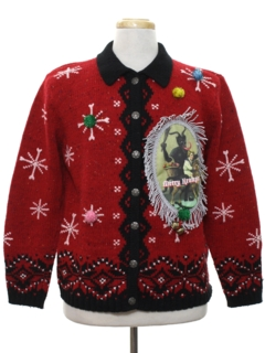 1980's Unisex Krampus Ugly Christmas Sweater