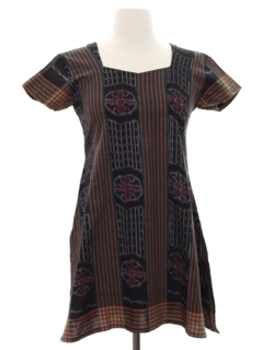 1990's Womens Hippie Tunic Dress