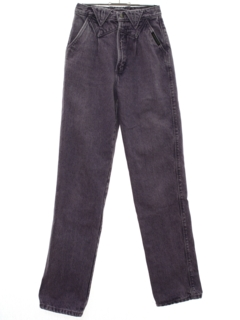 1990's Womens Tapered Leg Denim Jeans Pants