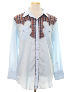1970's Mens Western Rodeo Shirt