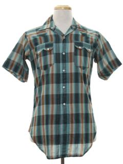 1950's Mens Western Shirt