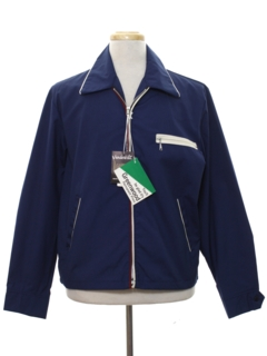 1960's Mens Mod Zip Jacket