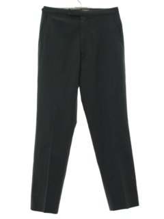 1960's Mens or Boys Mod Flat Front Slacks Pants