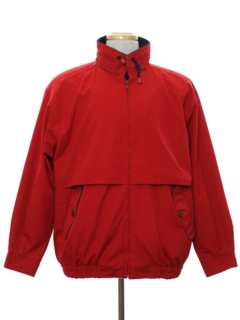 1980's Mens Wind Breaker Zip Jacket