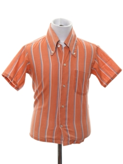1960's Mens/Boys Sport Shirt