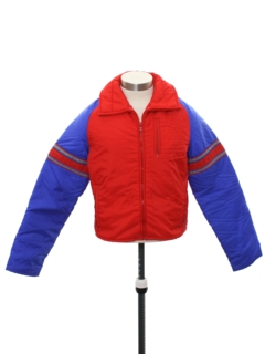 1980's Mens/Boys Totally 80s Ski Jacket