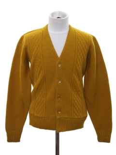 1960's Mens/Boys Mod Cardigan Sweater