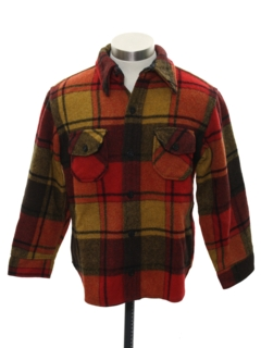 1970's Mens/Boys Wool CPO Shirt Jacket