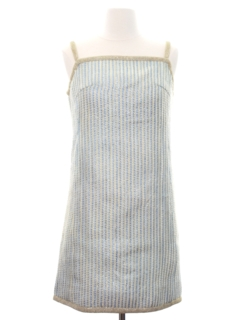 1960's Womens Mod Mini A-Line Dress