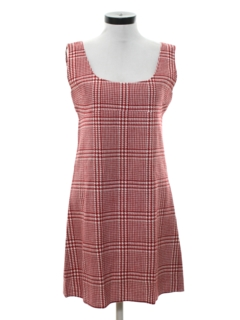 1960's Womens Mod Jumper Dress
