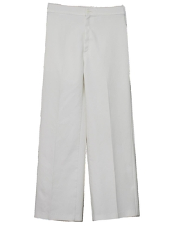 1970's Womens Wide Leg Knit Pants