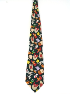 1990's Mens Cartoon Necktie