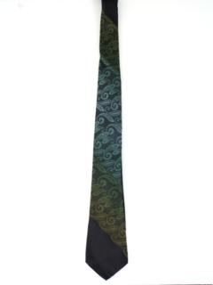 1960's Mens Mod Skinny Necktie