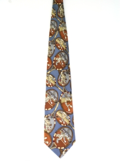 1990's Mens Loony Tunes Cartoon Necktie