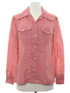 1970's Womens Western Style Shirt