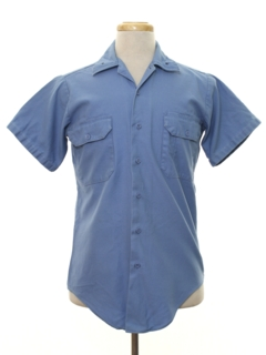 1960's Mens Uniform Shirt