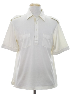 1980's Mens Safari Style Golf Shirt